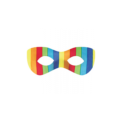 "2 7/8"" x 8 1/4"" Superhero Masks Rainbow"