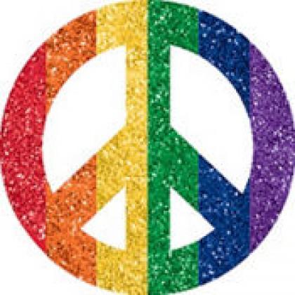 """5"""" x 3 1/2"""" Body Jewelry Sprit - Rainbow"""