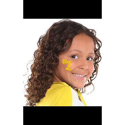 """5"""" x 3 1/2"""" Body Jewelry Yellow"""