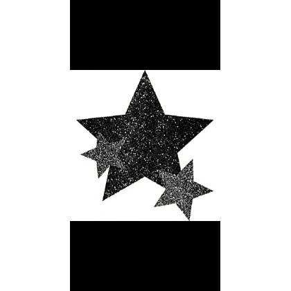 """5"""" x 3 1/2"""" Body Jewelry Sprit - Black"""