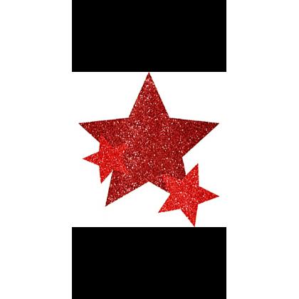 """5"""" x 3 1/2"""" Body Jewelry Sprit - Red"""