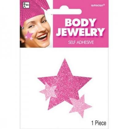 """5"""" x 3 1/2"""" Body Jewelry - Pink"""