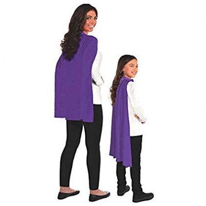 One Size Capes Purple