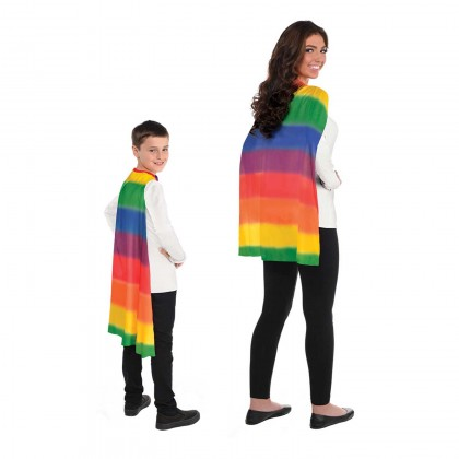 One Size Capes Rainbow