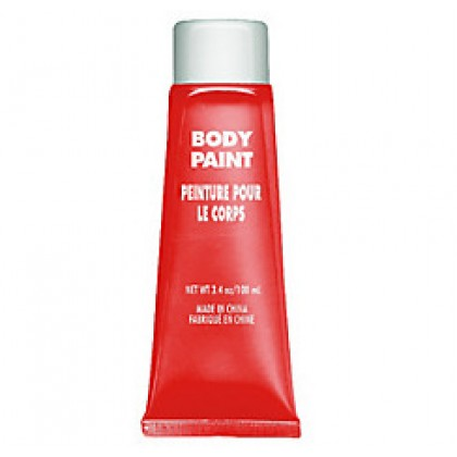 3.4 oz. Body Paint Red
