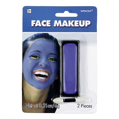 0.21 oz. Face Makeup Blue