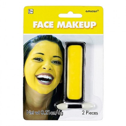 0.21 oz. Face Makeup Yellow