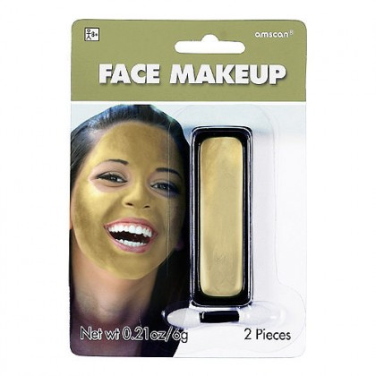 0.21 oz. Face Makeup Gold