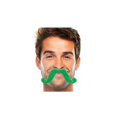 "2 2/3"" x 5 1/2"" Moustaches Green"