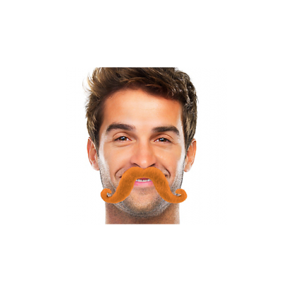 "2 2/3"" x 5 1/2"" Moustaches Orange"
