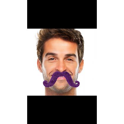 """2 2/3"""" x 5 1/2"""" Moustaches Purple"""