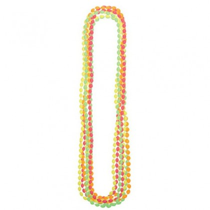 "30"" Metallic Necklaces Neon"