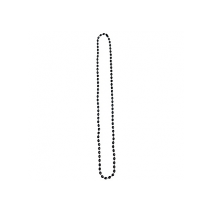 "30"" Metallic Necklaces Black"