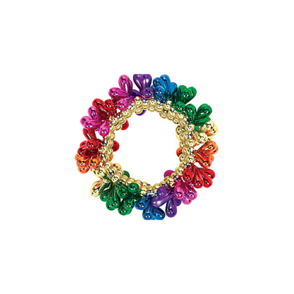 "3"" Drop Bead Bracelets - Rainbow"