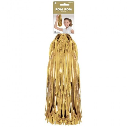 "15"" Pom Pom Mixes Gold"