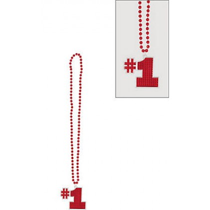 "36"" Bling Necklaces (#1) - Red"