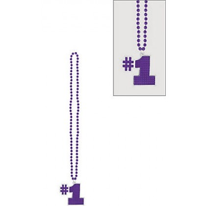 "36"" Bling Necklaces (#1) - Purple"