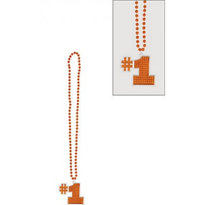 "36"" Bling Necklaces (#1) - Orange"