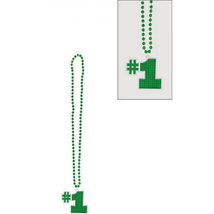 "36"" Bling Necklaces (#1) - Green"
