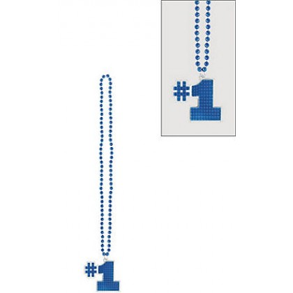 "36"" Bling Necklaces (#1) - Blue"