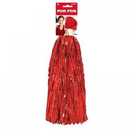 """15"""" Pom Pom Mixes Red"""