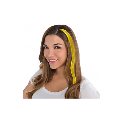 """15"""" Hair Extensions Yellow"""