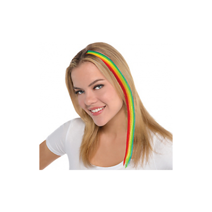 "15"" Hair Extensions Rainbow"