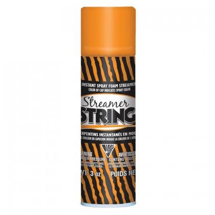 3 oz. Streamer String Orange