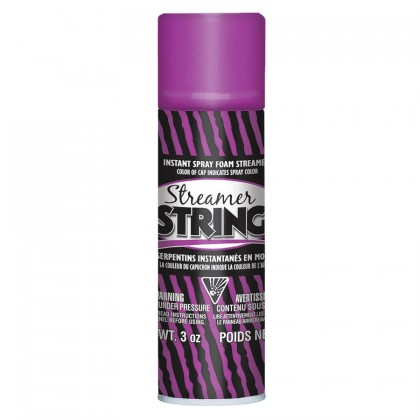 3 oz. Streamer String Purple