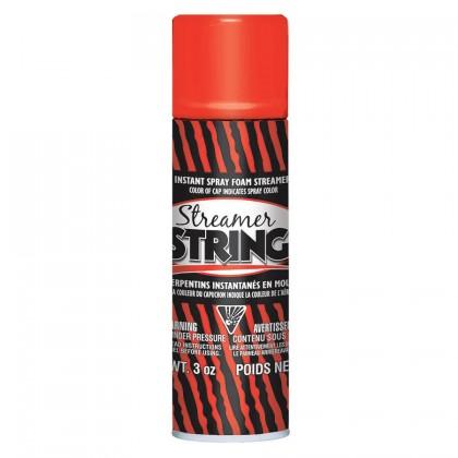 3 oz. Streamer String Red