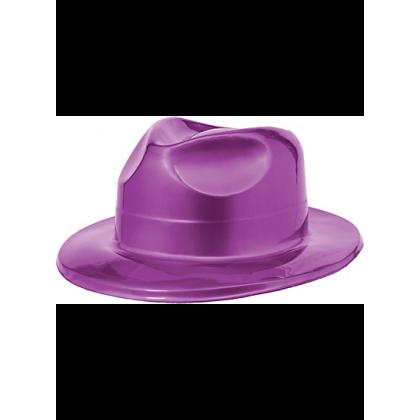 """4 1/2""""H x 10 11/16""""W x 12 13/16""""D Vac Form Fedoras Purple"""