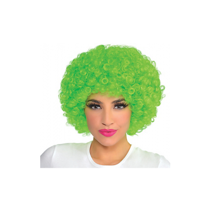 Adult/Child Curly Wigs Neon