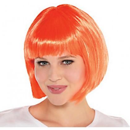 Adult/Child Bob Wigs Orange