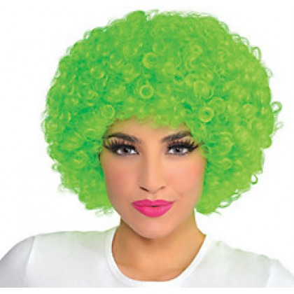 Adult/Child Curly Wigs Green