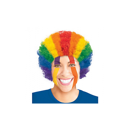 Adult/Child Curly Wigs Rainbow
