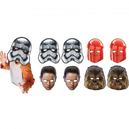 Star Wars Episode VIII Masks - Paper
