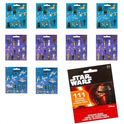 """5"""" x 4"""" Sticker Booklets Star Wars ™ Classic"""