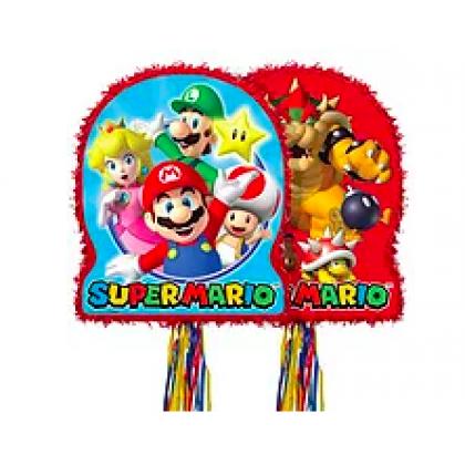 Super Mario Brothers™ Licensed Outline Pull Piñata