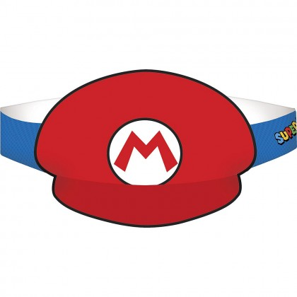 Super Mario Brothers™ Hats - Paper