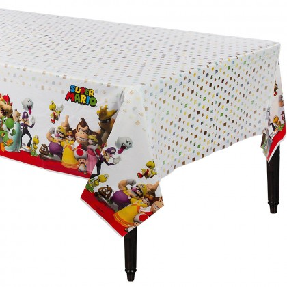 Super Mario Brothers™ Plastic Table Cover