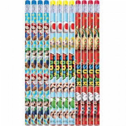 Super Mario Brothers™ Pencil Favors
