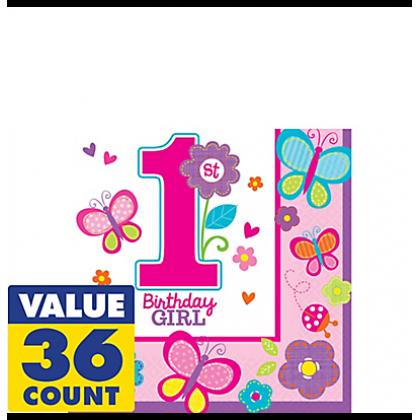 Sweet Birthday Girl Gift Wrap - Printed Paper