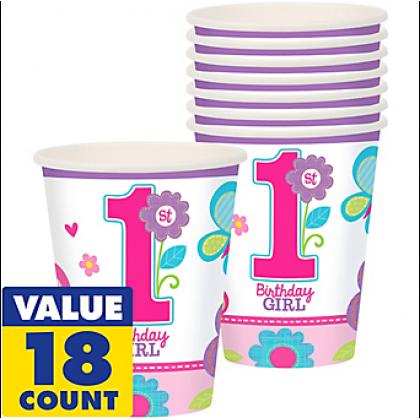 12Pcs Sweet Safari Girl Value Pack CutOuts