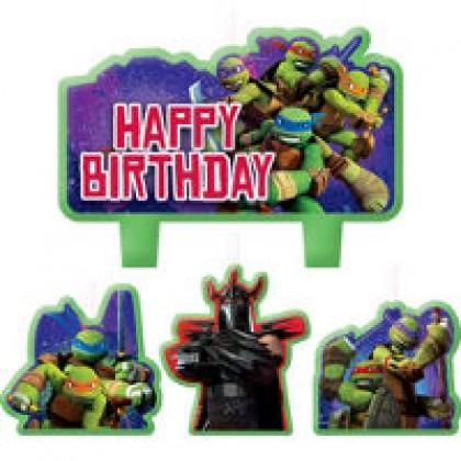 Teenage Mutant Ninja Turtles™ Birthday Candle Set