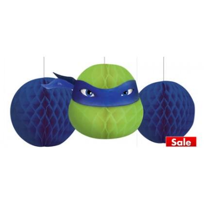 Teenage Mutant Ninja Turtles™ Honeycomb Decorations