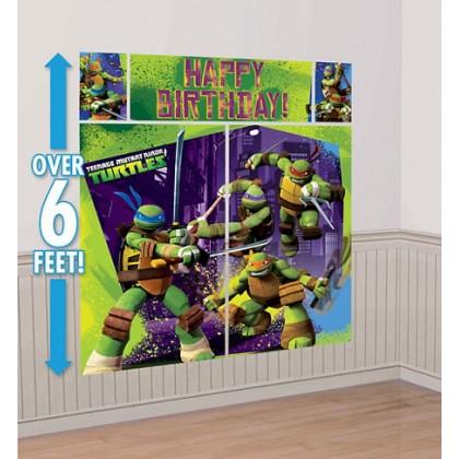 Teenage Mutant Ninja Turtles™ Scene Setters® Wall Decorating Kit - Plastic