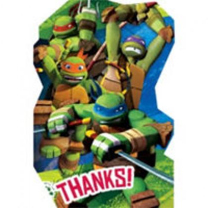 Teenage Mutant Ninja Turtles™ Postcard Thank You Cards
