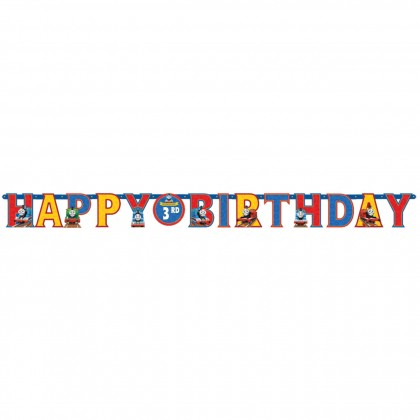 Thomas & Friends™ Jumbo Add-An-Age Letter Banner - Printed Paper