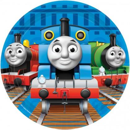 "Thomas & Friends™ Square Plates, 7"""