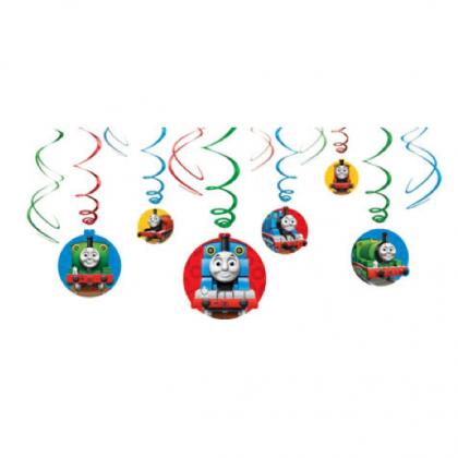 Thomas & Friends™ Value Pack Foil Swirl Decorations